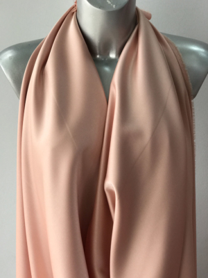 peach satin fabric