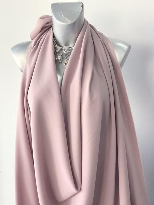 pink pebble crepe