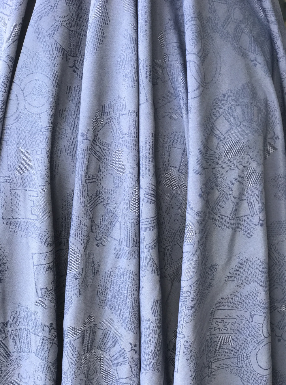 viscose jacquard fabric