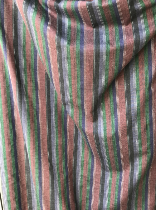 striped summer fabric