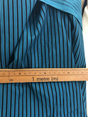 striped cotton fabric
