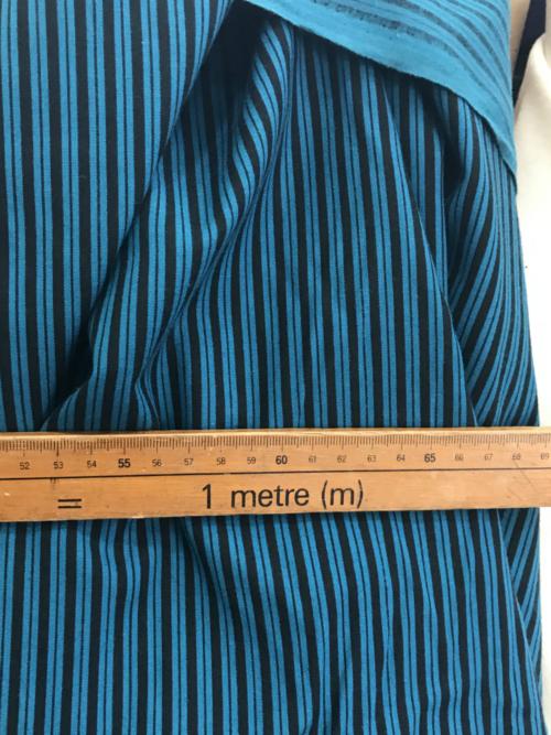 striped cotton fabric