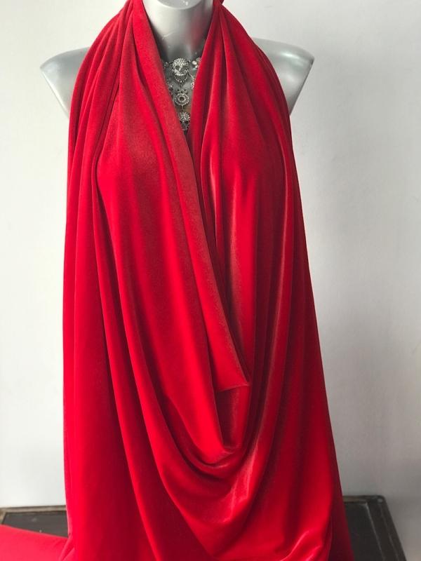 red velvet jersey