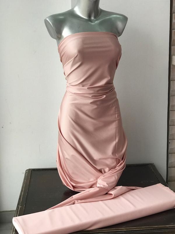 blush pink Lycra Spandex fabric
