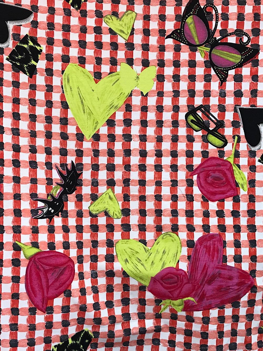 cotton lycra prints for dressmaking