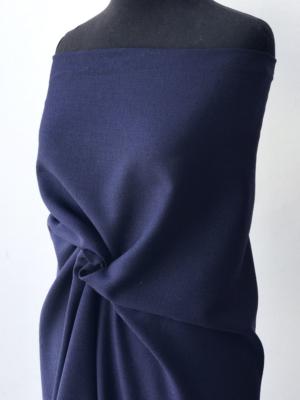 blue wool crepe