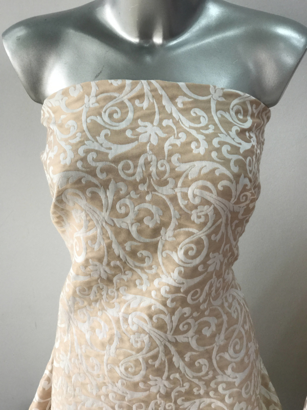 cotton Pique jacquard fabric