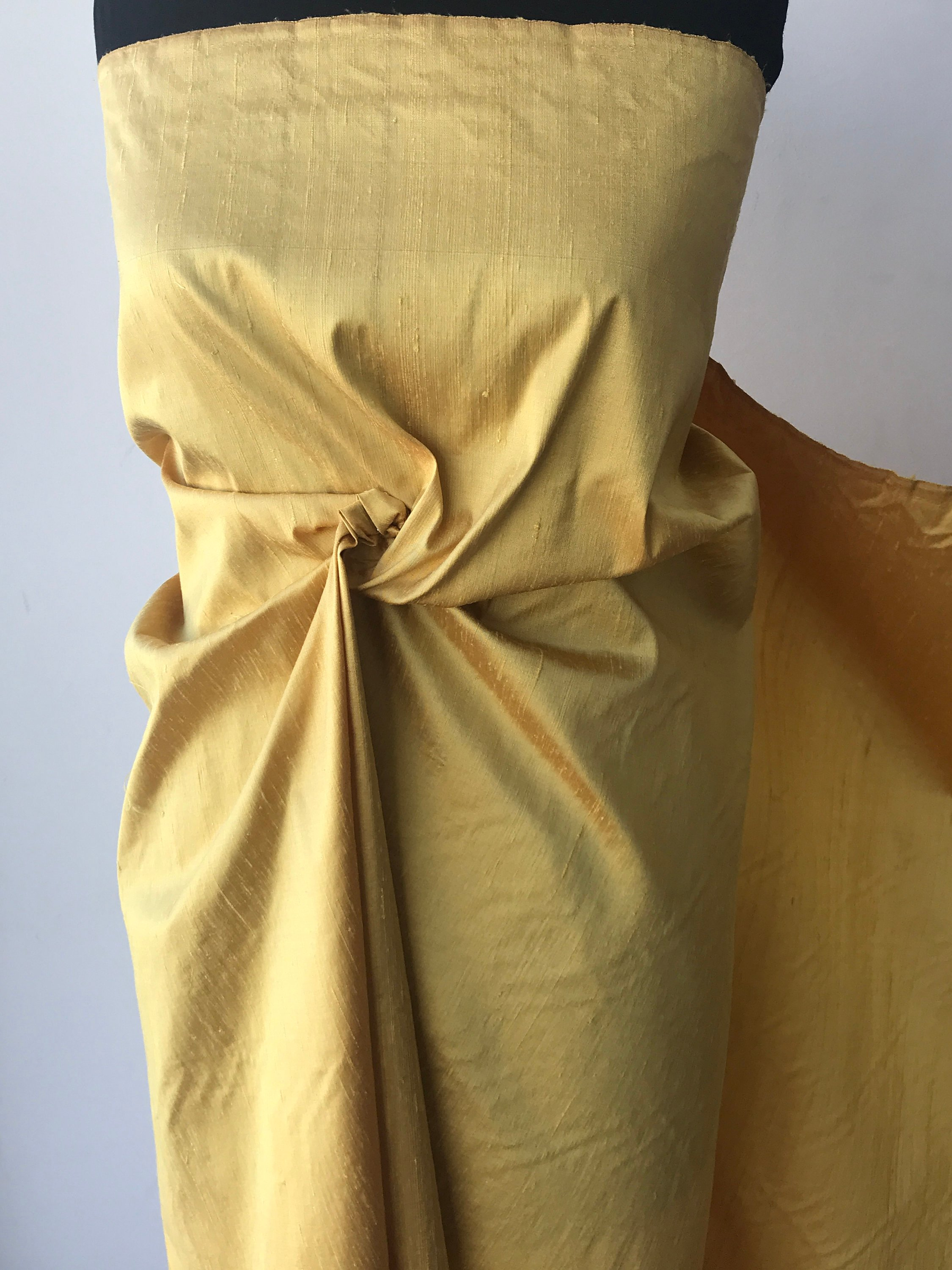 gold dupioni silk