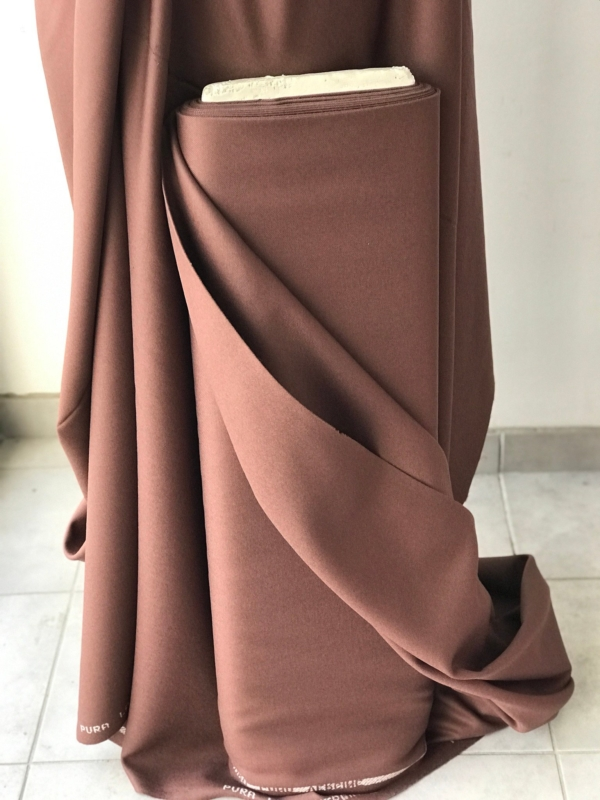 Pink brown army pink wool fabric medium weight wool suiting fabric 100% pure virgin wool flannel coating jacket trouser skirt fabric