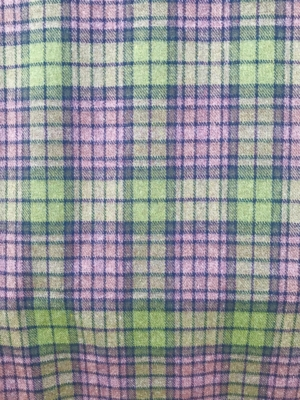 green brown tartan check