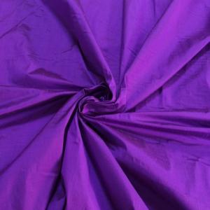 "Magenta purple 100% dupioni silk fabric yardage By the Yard 120cm 45"" wide raw silk Soie Sauvage"