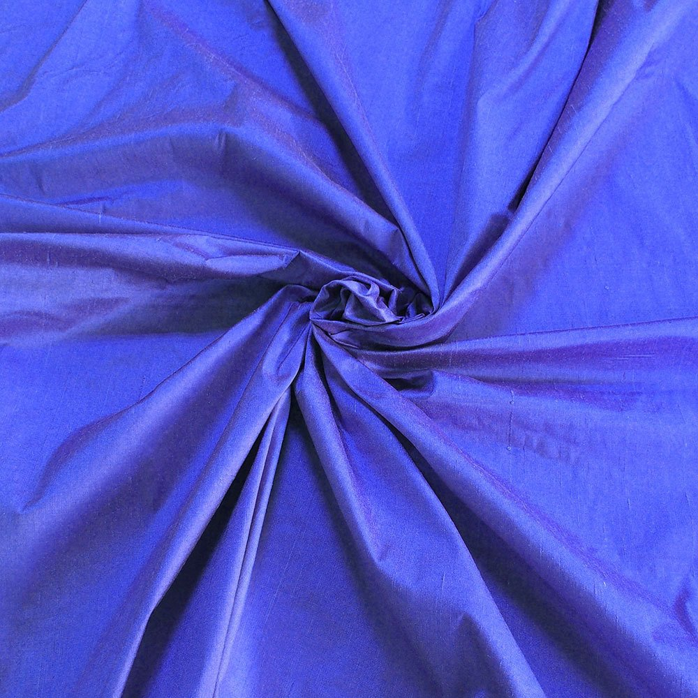 "Lavender purple 100% dupioni silk fabric yardage By the Yard 120cm 45"" wide raw silk Soie Sauvage"