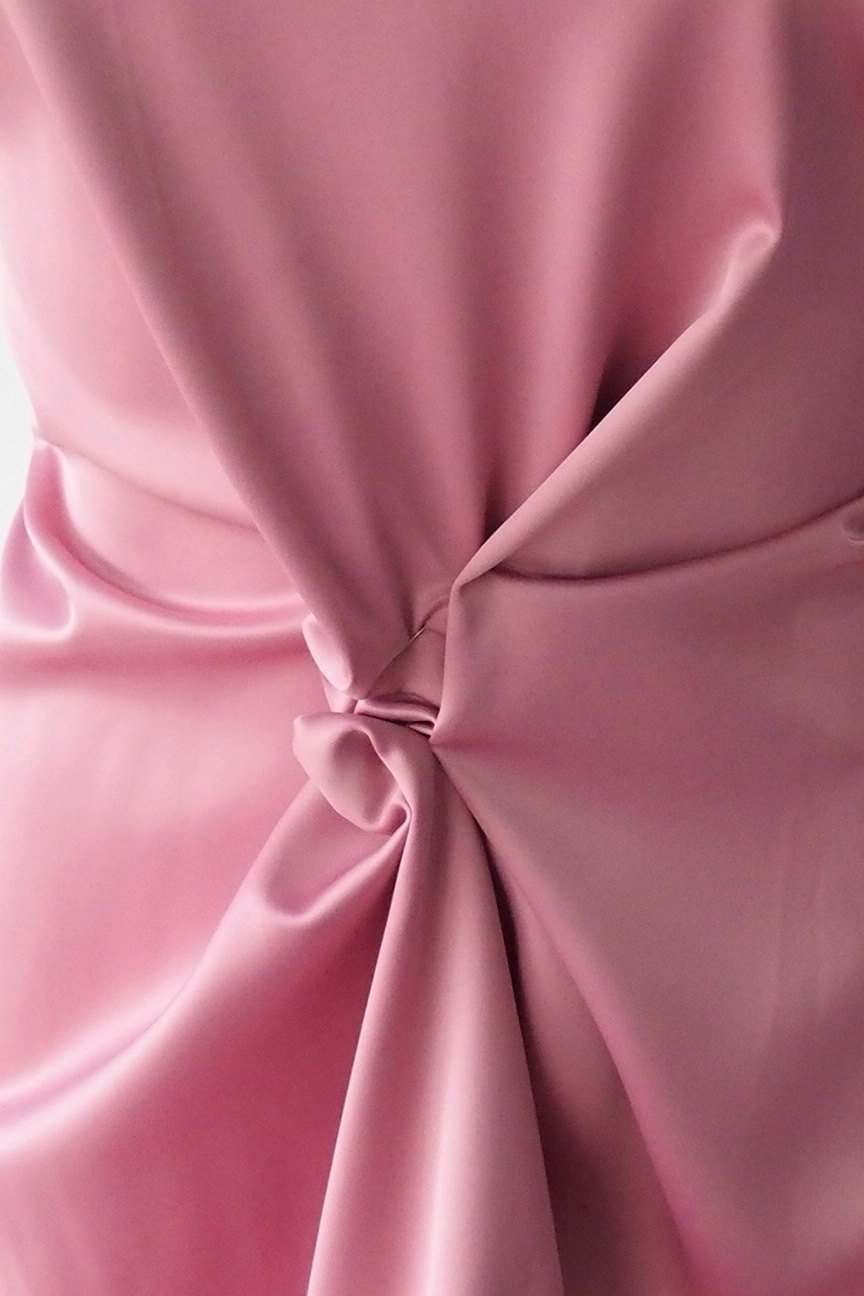 polyester satin fabric, poly spandex heavy Duchess satin, dull satin, heavy stretch pink color bridal under lace 150cm 60 inches