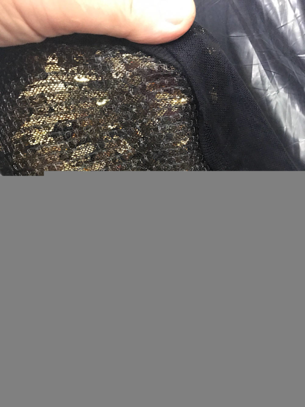 Sequins fabric gold pewter black evening formal dance wear