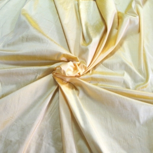 "Soft yellow 100% dupioni silk fabric yardage By the Yard 120cm 45"" wide raw silk Soie Sauvage Bordeux wine color"