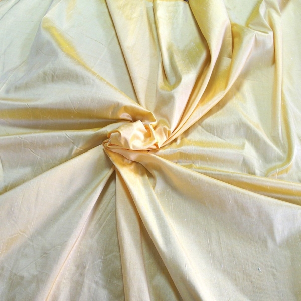 "Soft yellow 100% dupioni silk fabric yardage By the Yard 120cm 45"" wide raw silk Soie Sauvage Bordeux wine color"