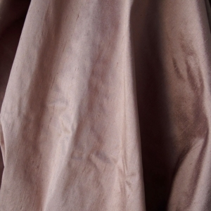 "Taupe light brown beige 100% dupioni silk fabric yardage By the Yard 54"" wide raw silk Soie Sauvage"