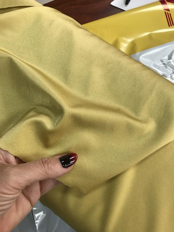 gold mustard Lycra