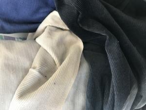 beige corduroy fabric