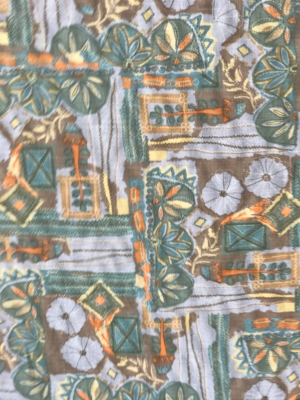 linen summer dress fabric