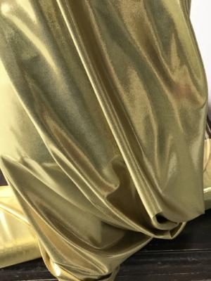 gold lycra fabric
