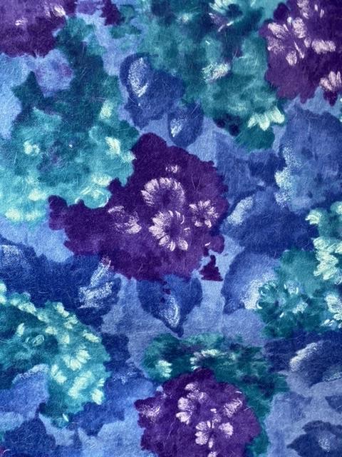 wool print fabric