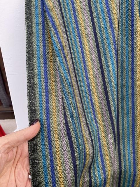 stripe wool fabric