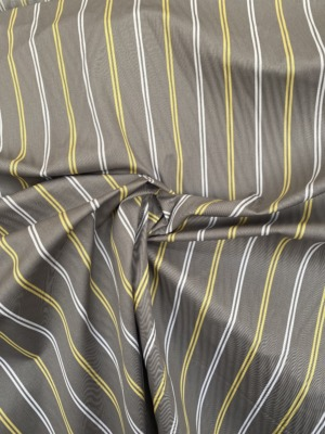 stripe sateen cotton fabric