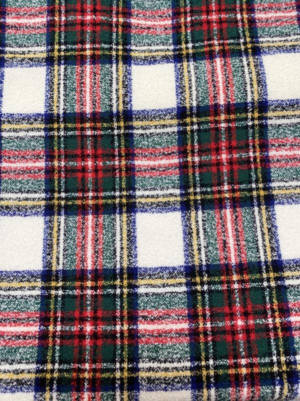 check tartan wool